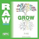 NPK Industries Raw Grow Fertilizers, 8 oz.