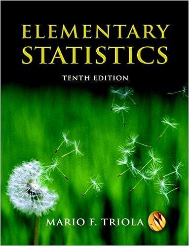 Statistics elementary mario f. Triola eighth edition. Ppt video.