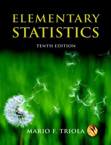 Elementary Statistics (10th Edition) (MyStatLab Series)