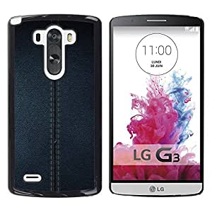 MOBMART Carcasa Funda Case Cover Armor Shell PARA LG G3 - The Denim Jean