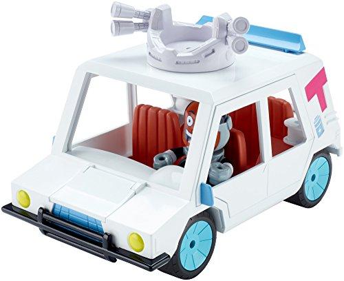 Teen Titans Go! T-Car & Cyborg Vehicle & Figure Action Figure