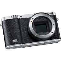 Samsung NX3000 NX3000BK Smart Camera (Body Only) -Black - International Version (No Warranty)