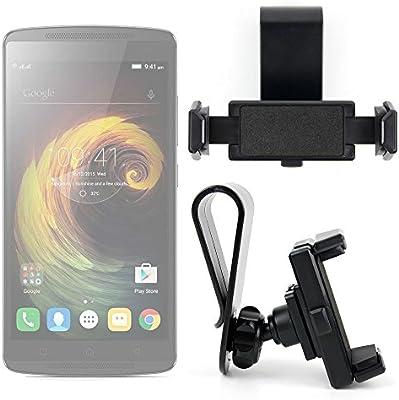 DURAGADGET Exclusivo Montura/Soporte de Parasol de Coche para Smartphones Lenovo K4 Note/Vibe S1 Lite / K5 Note/Moto G4 / G4 Plus / G4 Play: Amazon.es: Electrónica