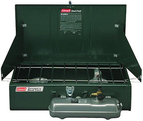 Coleman 2-Burner Dual Fuel Powerhouse Liquid Fuel Stove, Outdoor Stuffs