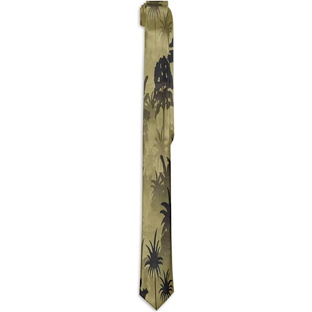 Sherly Yard Corbatas para hombre Corbata de la selva tropical de ...