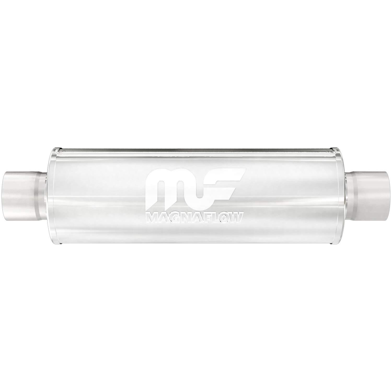 Magnaflow 10436 Satin Stainless Steel 2.5 Round Muffler
