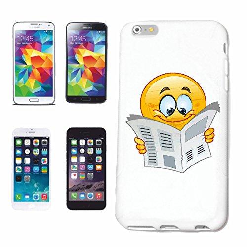 """cas de téléphone Huawei P9 """"SMILEY LE JOURNAL DE LECTURE """"smile EMOTICON APP de SMILEYS SMILIES ANDROID IPHONE EMOTICONS IOS"""" Hard Case Cover Téléphone Covers Smart Cover pour Apple iPhone en blanc"""