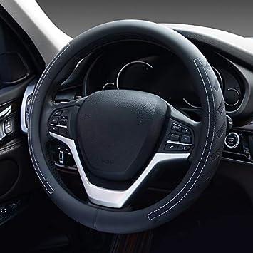 Flacher Boden HCMAX D Typ Fahrzeug Lenkradabdeckung Auto Lenkradschutz D-Form Durchmesser 38cm 15