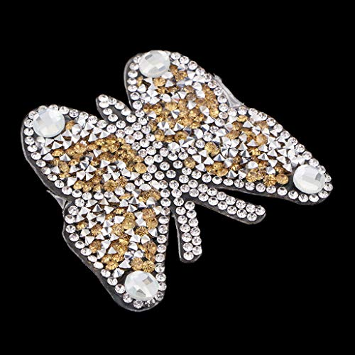 Rhinestones Diamond Patch for Clothes Sew on Bag Shoes Applique | Color - ()