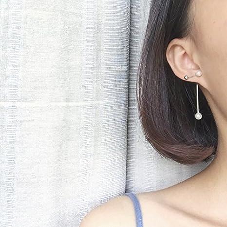 acheter de nouveaux meilleur endroit nouveau authentique BAOZIV587 Boucles d'oreilles Cristal Mode La jeune fille ...