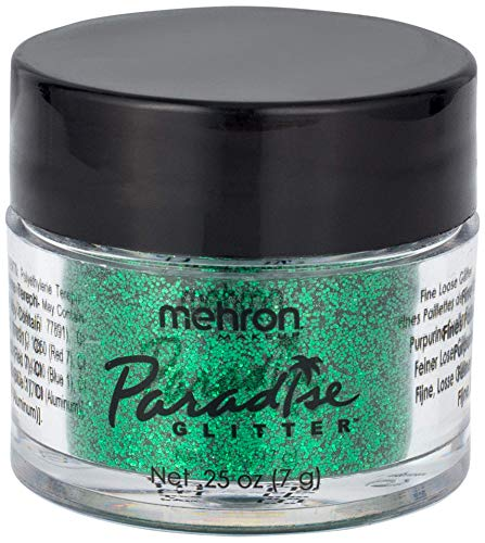Mehron Makeup Paradise AQ Glitter (0.25 oz) (GREEN) for $<!--$4.88-->