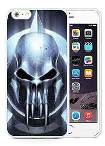 Personalized iPhone 6 Plus Case,Halloween White iPhone 6 Plus 5.5 TPU Case 21