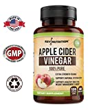 Apple Cider Vinegar Capsules, 1500MG Extra Strength Pills | 100% Pure, Organic, Raw, All Natural | Supports Health, Weight Management, Digestion, Detox, Blood Sugar, Cholesterol | 60D Supply
