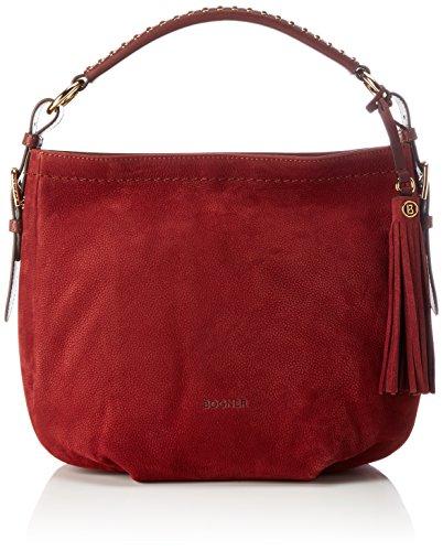 Bogner Damen Baby Aisha Henkeltasche, 20x24x35 cm Rot (Carmine)