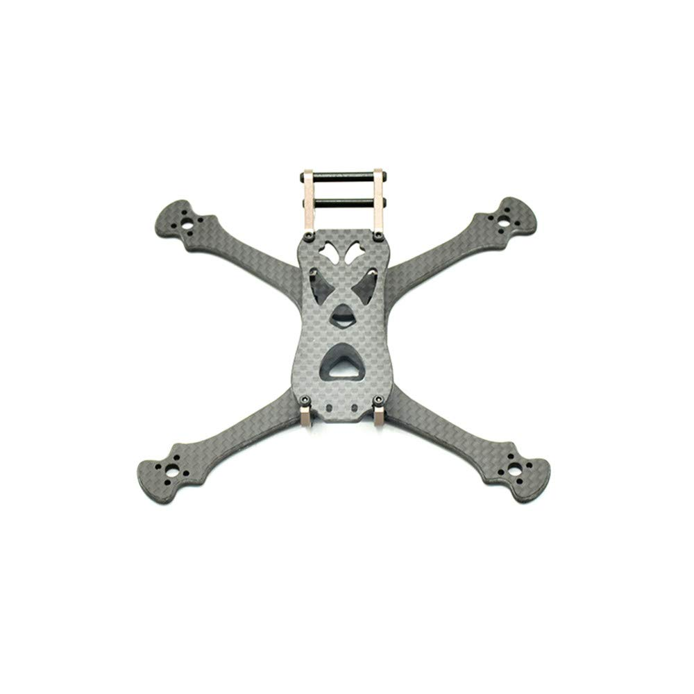 KINGDUO Lisamrc Ls-x140 140Mm Radstand Carbonfaser-Rahmen-Kit 3Mm Bodenplatte Für Rc-Drohne Rc-Drohne Rc-Drohne 8e6894