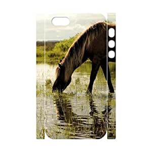 Drinking Water DIY 3D Case for Iphone 5,5S, 3D Custom Drinking Water Case by lolosakes