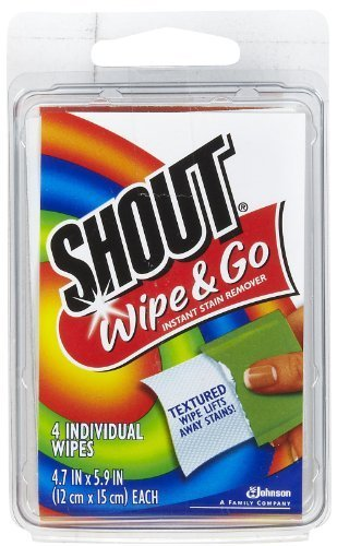 Shout Stain Remover Wipes, Travel Size - 2 pk. by SC Johnson