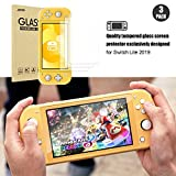 [3 Pack]Switch Lite Screen Protector, JOTO Tempered