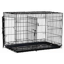 Precision Pet Black Great Crate 2 Door 36-Inch x 23-Inch x 26-Inch