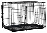 Precision Pet Two-Door Great Crate, Medium - 30x19x22 inches