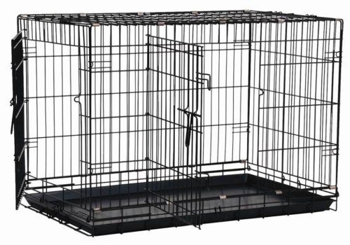 extra large adjustable dog crate - 1