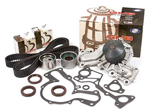 (Evergreen TBK320WP Fits 01-06 Mitsubishi Montero 3.5L 3.8L 6G74 6G75 Timing Belt Kit GMB Water Pump )