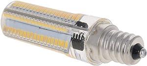 Othmro LED Light Bulb E12 18x64mm 1PCS,6Watt Led Lamp for Refrigerator, Microwave Oven Appliance Light Warm White 2700K 220-240V