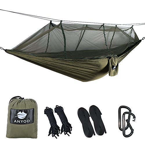 Bedding Sets Hard-Working Portable Outdoor Fabric Camping Hanging Hammock Mosquito Net Parachute Bed Fragrant Aroma