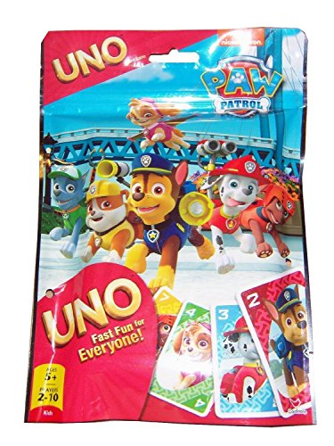 Paw Patrol Uno Card Game