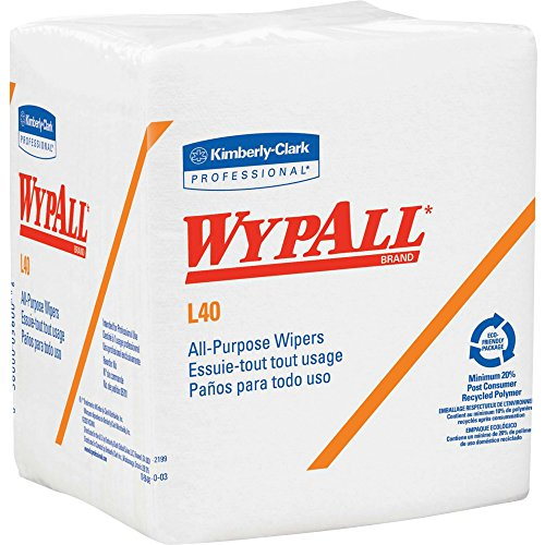 Wypall L40 Wipes (Wypall L40 General Purpose Wipes - Wipe - 56 - White)