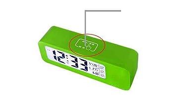 D&D DD Creative Pantalla Grande Luminoso Reloj Inteligente Led Perezoso Electrónico Pequeño Reloj De Alarma Se