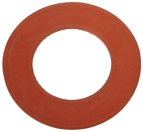 SBR Flange Gasket, No Holes, 4