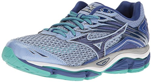 - Mizuno Women's Wave Enigma 6 Running Shoe, Light Blue/Columbia/Navy, 7.5 B US
