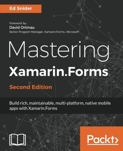 Mastering Xamarin.Forms - Second Edition [Snider, Ed] (Tapa Blanda)