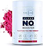 Nitric Oxide Supplement - Caffeine Free Pre Workout w L Arginine Citrulline Malate, Beet Root Powder & AAKG-Powerful Nitrous Oxide Booster for Keto Diet + Natural Stim Free Preworkout No2 Supplements
