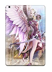 New Style Premium Protective Hard Case For Ipad Mini 2- Nice Design - Aion Fantasy Cg Archer Girl 1293945J78673406