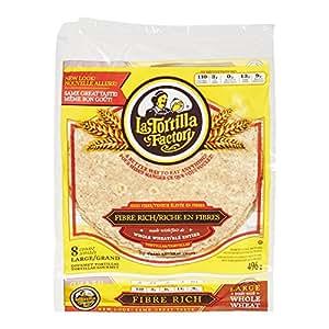 Amazon.com : La Tortilla Factory Whole Wheat Flour Large