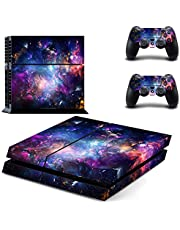 Playstation 4 Skin - Colourful Space D2
