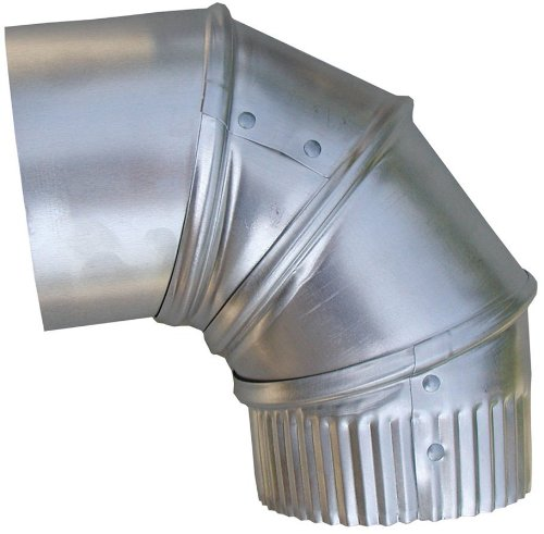 (Speedi-Products EX-26A90 04 4-Inch Aluminum 90-Degree Adjustable Elbow)