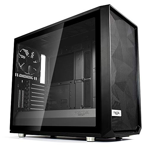 (Fractal Design Meshify S2 - TG No Power Supply ATX Mid Tower (Black))