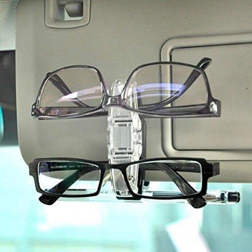 VIPASNAM-New Car Sun Visor Dual Clip Pen Holder Glasses Sunglasses Eye Glasses Card - Eyeglasses Mens Louis Vuitton