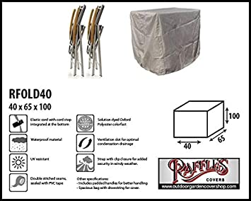 Raffles Covers RFOLD40 - Funda Protectora para sillas ...