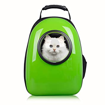 Waterproof Bubble Cat Carriers Breathable Puppy Backpack Airline