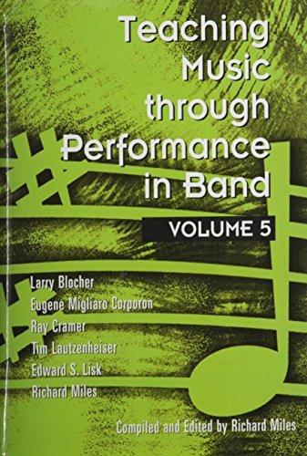 Download By Larry Blocher Teaching Music Through Performance in Band, Vol. 5 [Hardcover] pdf