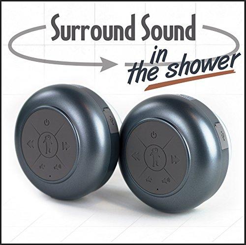 FRESHeTECH Waterproof Bluetooth Shower Speaker