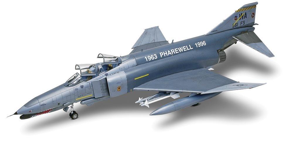 Revell/Monogram F-4G Phantom II Wild Weasel Model Kit, Model:RM5994 Gray, 23.25 Inch