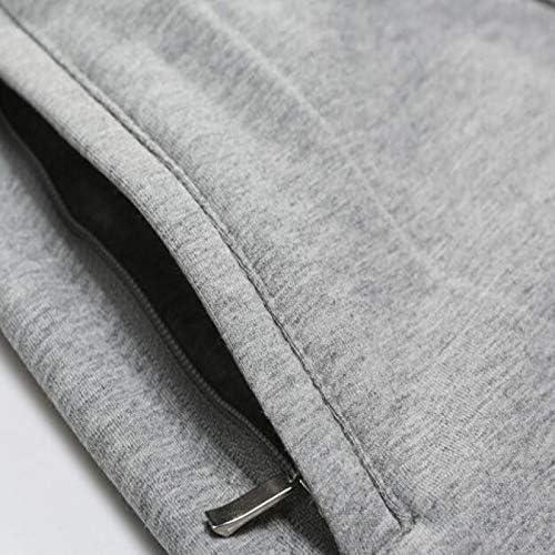 Pantalones Deportivos para Hombre Pantalones Lavados de Corte Recto Pantalones de ch/ándal c/ómodos Suaves y Ajustados el/ásticos para Ejercicios de Ejercicio Viajes