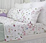 Queen's House Bed Sets Egyptian Cotton Floral