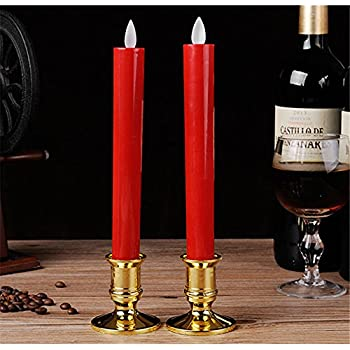 Amazon Com Flameless Led Window Taper Candles Battery