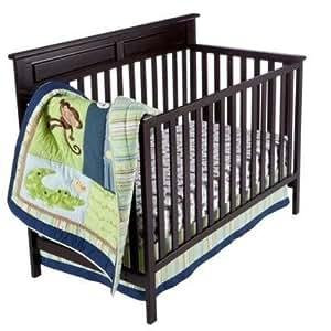 Amazon Com Tiddliwinks Safari Animals 3 Piece Baby Crib